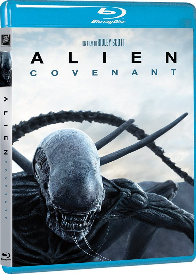 Alien Covenant Blu-ray su Amazon