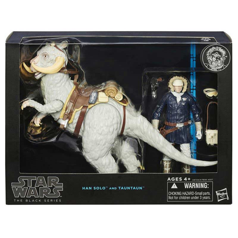 Action figure han solo tauntaun
