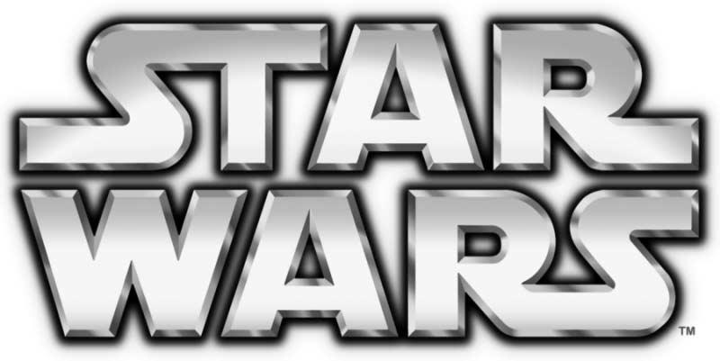 Star Wars logo saga