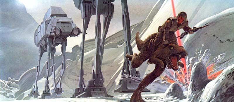 Star Wars taun taun truppe imperiali hoth