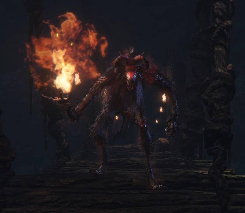 Bestie elementali Bloodborne