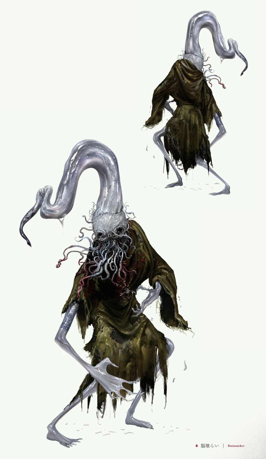 Bloodborne mostro Succhiacervelli