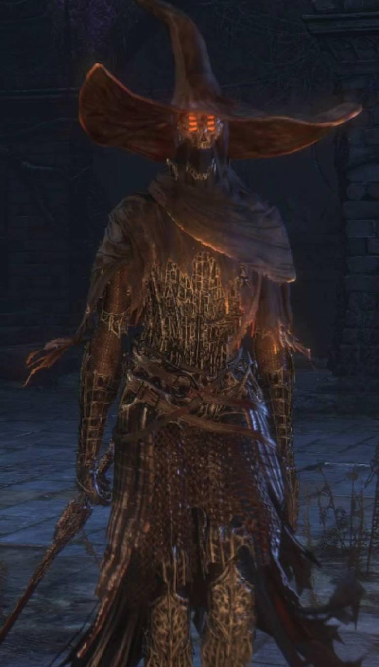 Custode Guardiano degli Antichi Signori Bloodborne