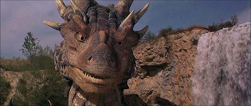 Draco Dragonheart primo piano