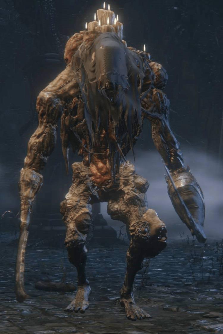 Gigante non-morto Bloodborne