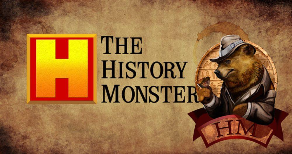 History Monster logo rubrica