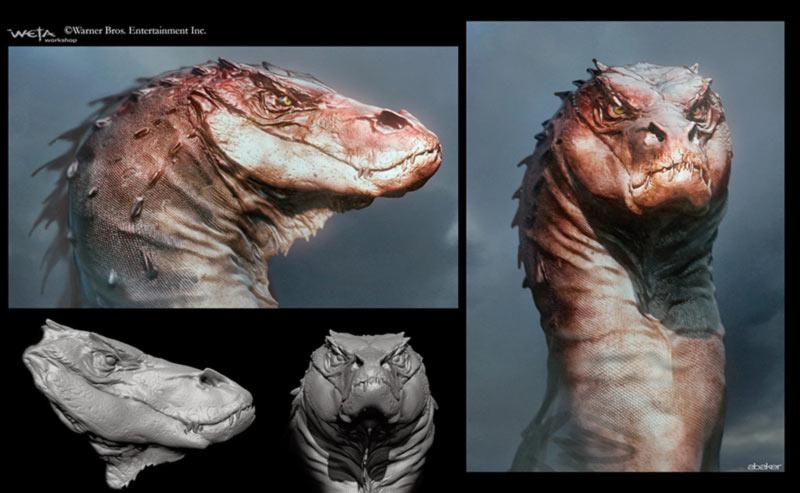 Drago Smaug concept art