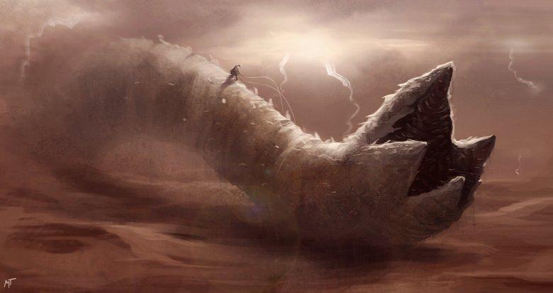 Shai Hulud verme Dune Lynch