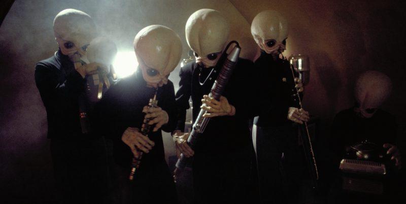 Bith suonatori nella cantina di Tatooine