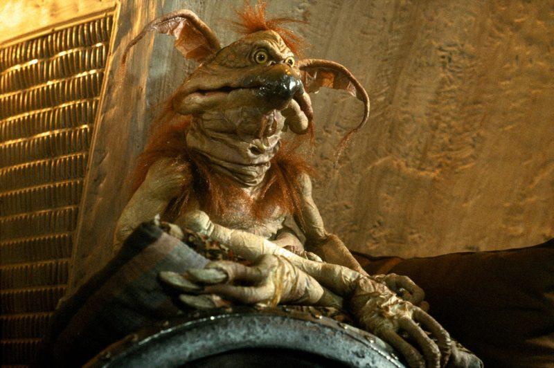 Scimmia Lucertola di Jabba