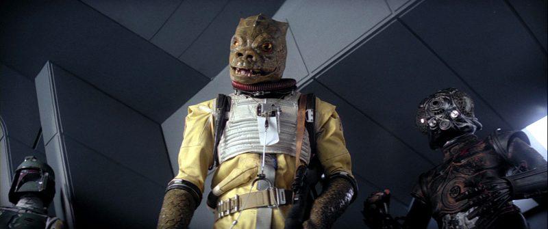 Trandoshano cacciatore di taglie Star Wars