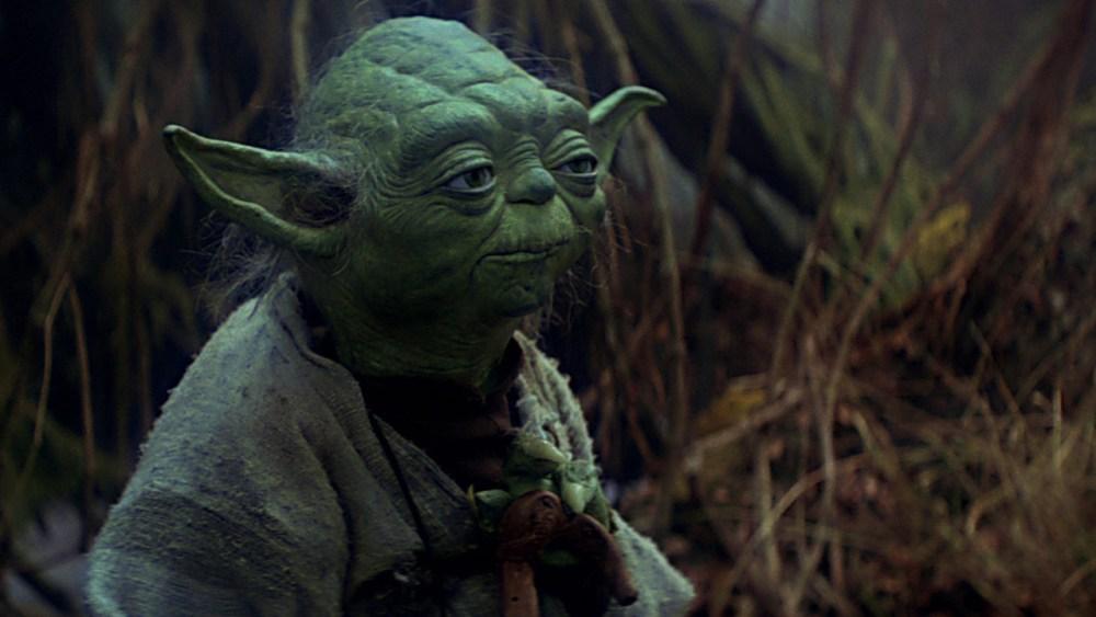 Yoda L'Impero colpisce ancora pupazzo