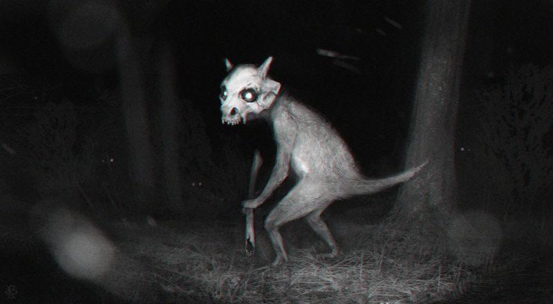 Cubone pokémon horror concept art