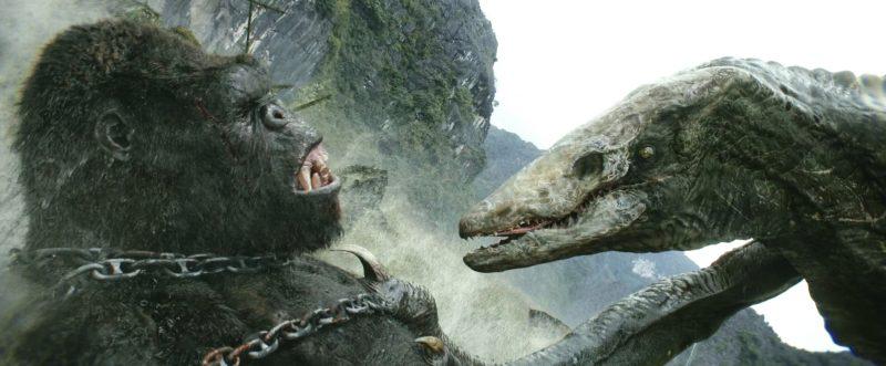 Kong contro Skullcrawler alfa