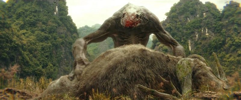 Skullcrawler con la preda