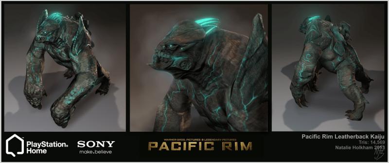 Modello di Leatherback nei videogame