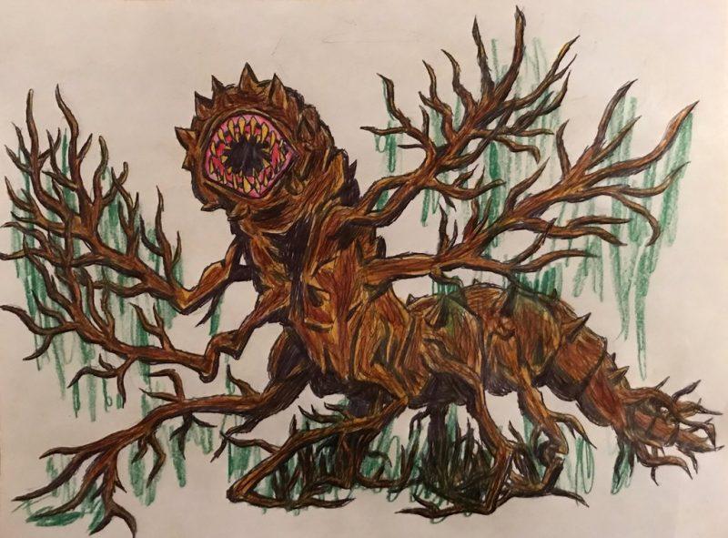 Fan art della Swamp Locust