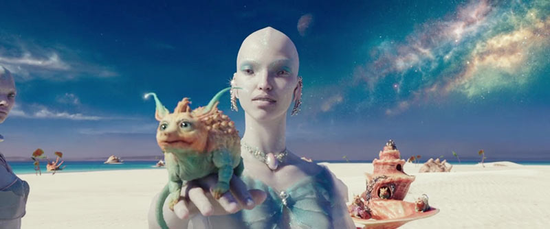Valeriana e la città di mille Planets Igon siruss Figura