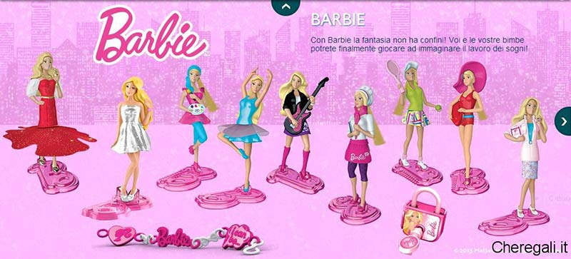 Barbie Kinder sorpresa