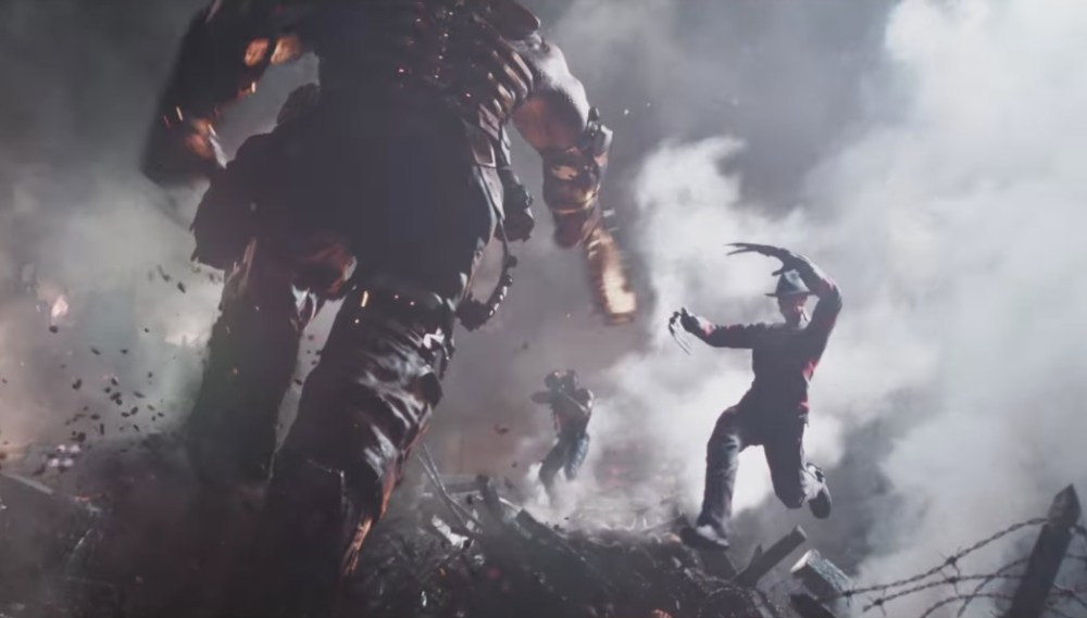 Freddy Krueger scena Ready Player One