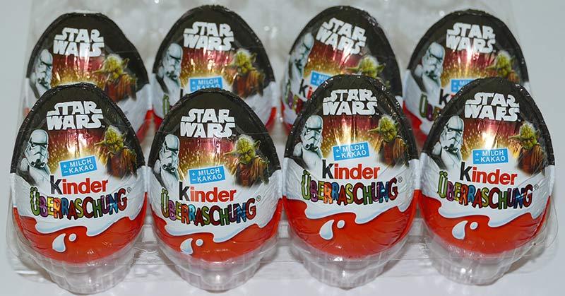 Kinder ovetti Star Wars