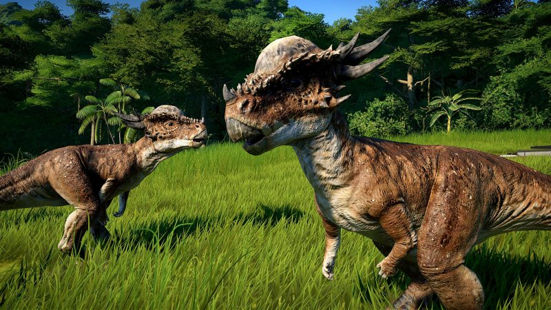 Jurassic World Evolution gioco dinosauri