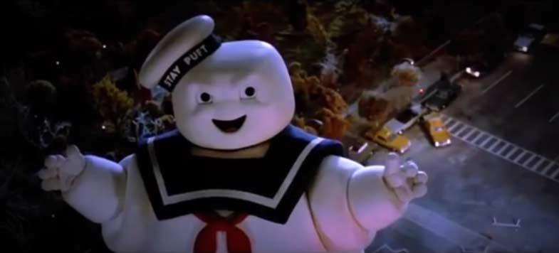 Uomo marshmallow gigante Ghostbusters