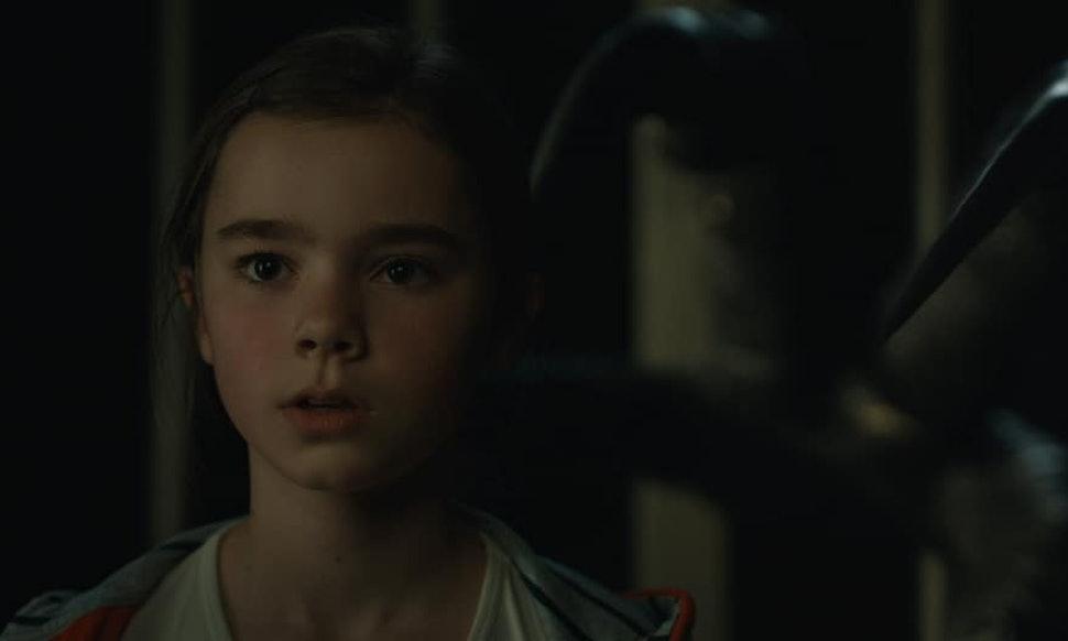 La piccola Maisie in Fallen Kingdom