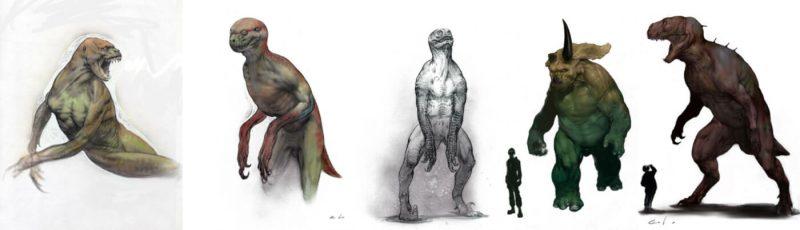 Bozze Jurassic Park 4
