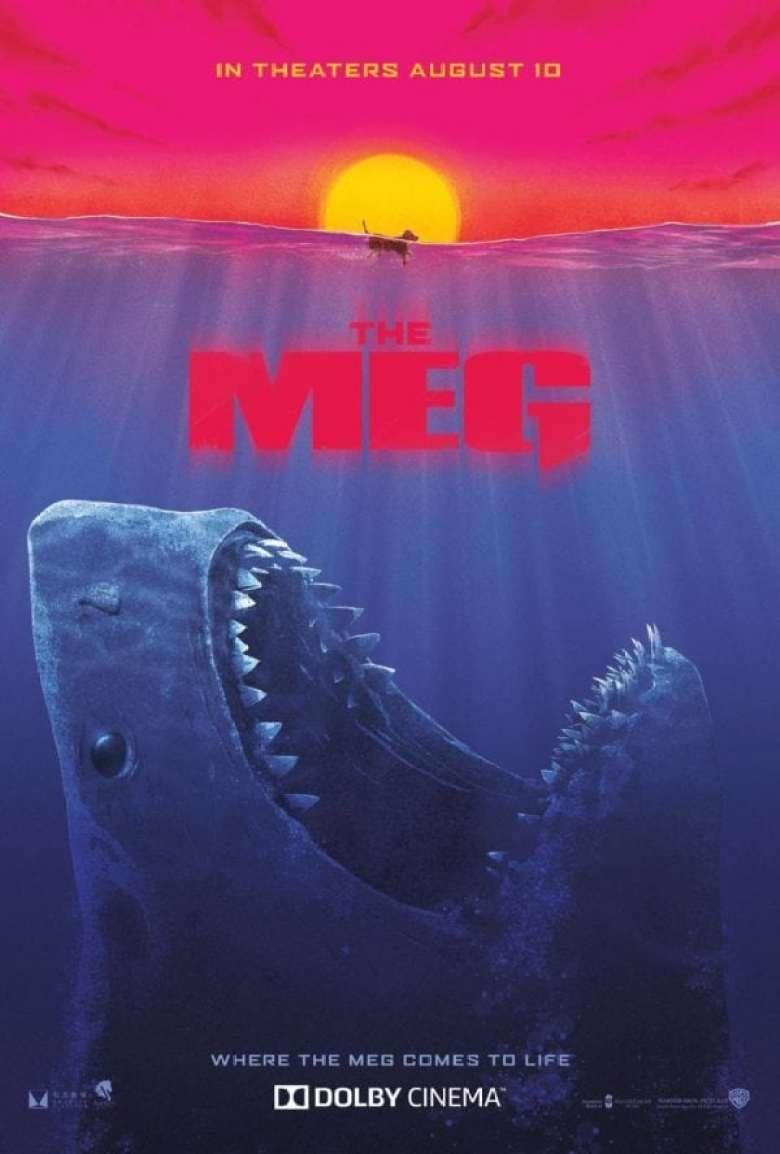 the meg shark il primo squalo poster