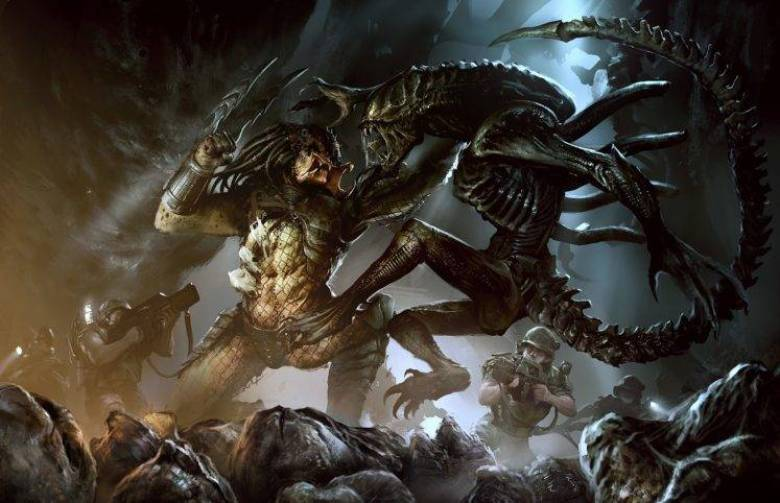 Alien vs Predator artwork