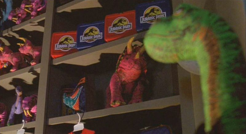 Giocattoli franchise Jurassic Park