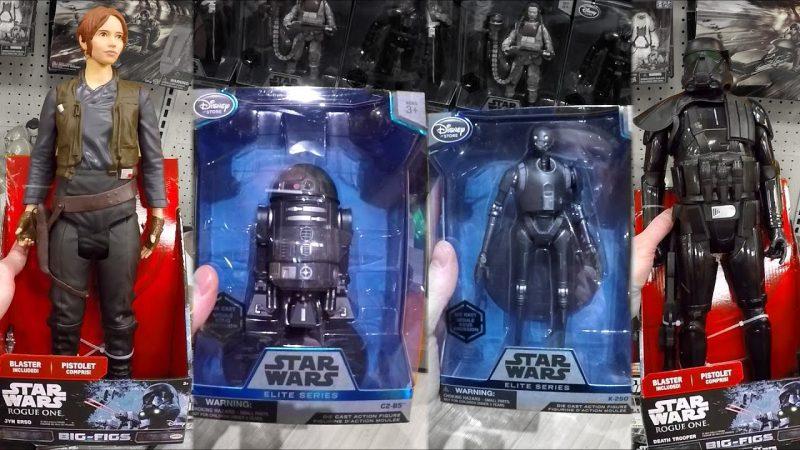 Rogue One giocattoli di Star Wars