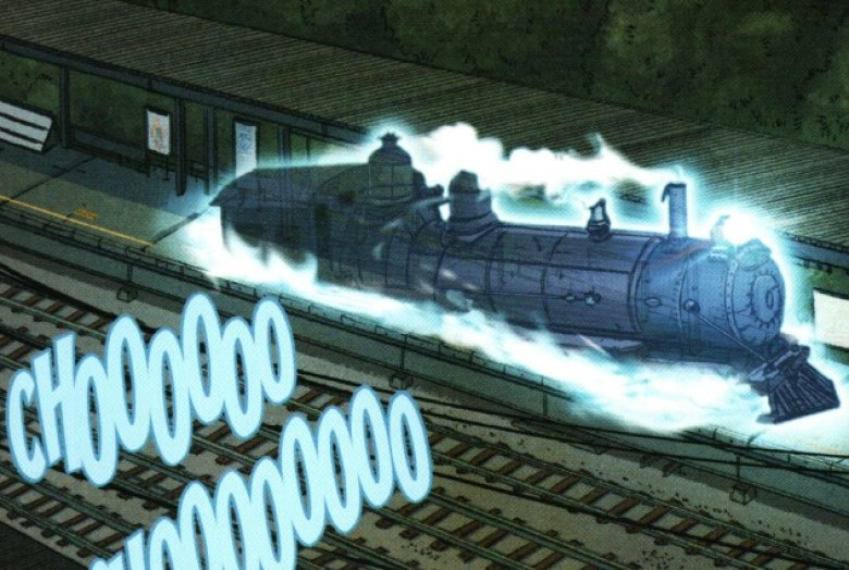 Monster movie bestiario Ghostbusters treno fantasma