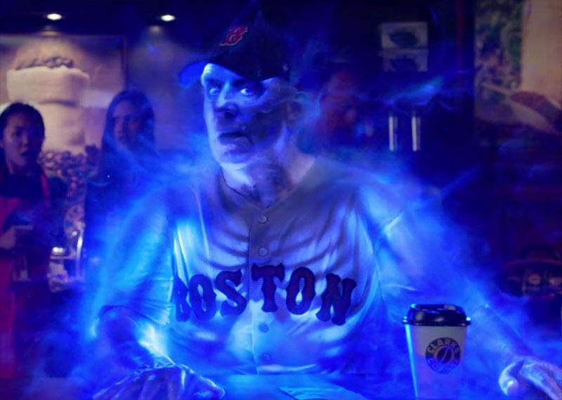Fantasma della caffetteria film Ghostbusters