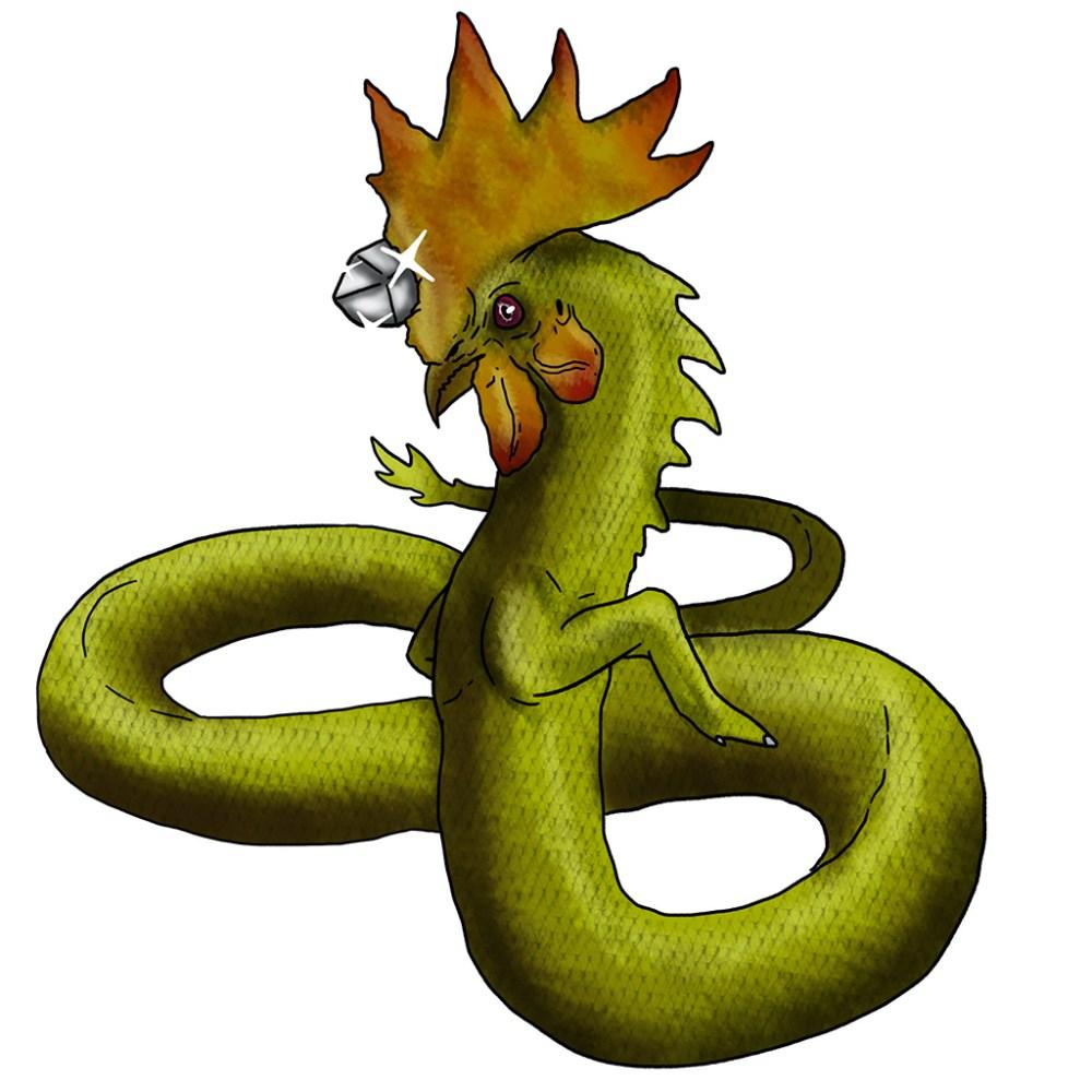 Badalischio toscana disegno monster movie