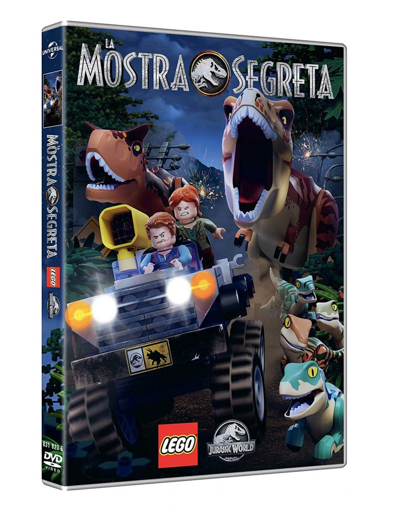 Lego Jurassic World mostra segreta dvd