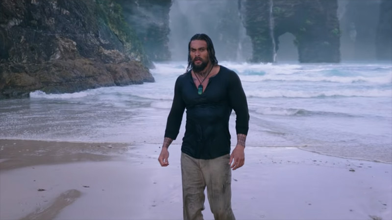 Aquaman mondo perduto Jason Momoa