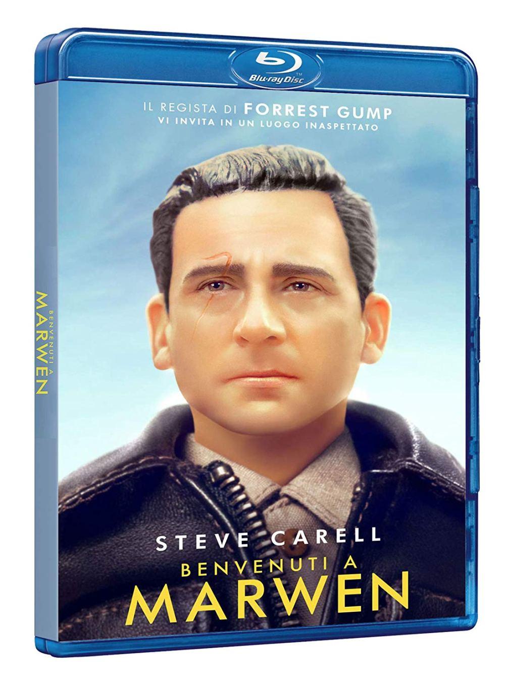 benvenuti a marwen blu ray dvd recensione_