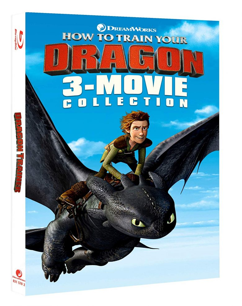 Dragon Trainer Blu-ray 3 film