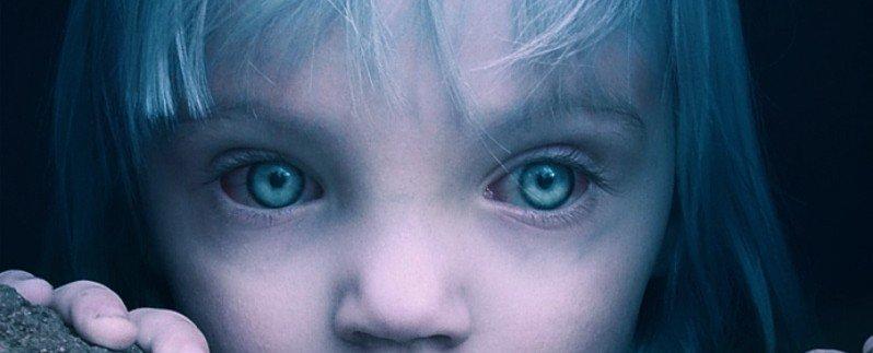 Azzurrina Fantasma occhi