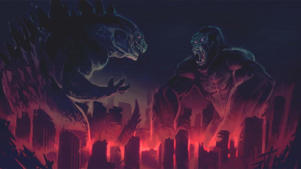 Kong vs Godzilla poster film