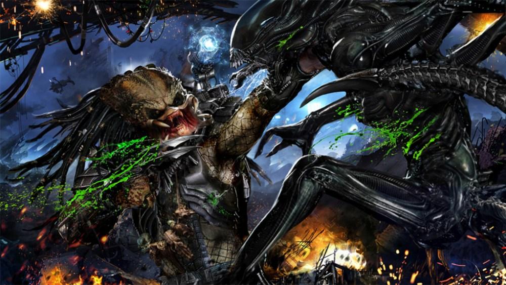 Alien contro Predator con sangue acido