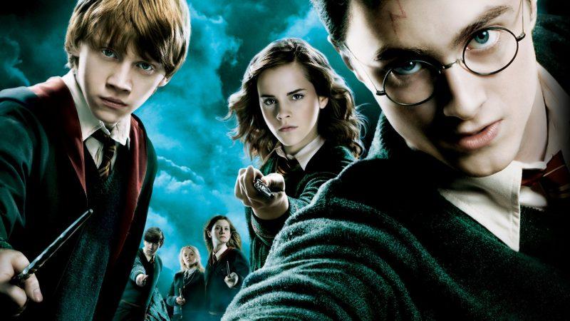 Harry Potter e l'Ordine della Fenice poster con i personaggi