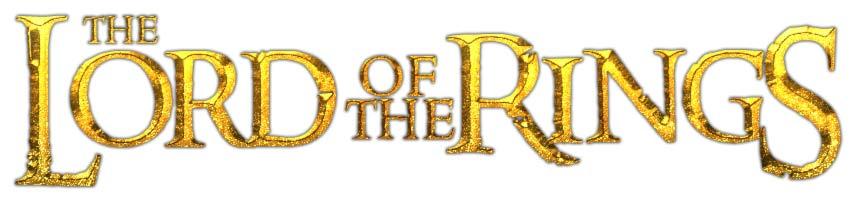 Bestiario Signore degli Anelli logo inglese
