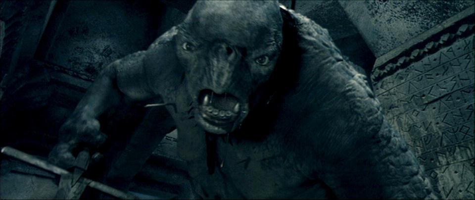 Signore degli Anelli Troll di Caverna