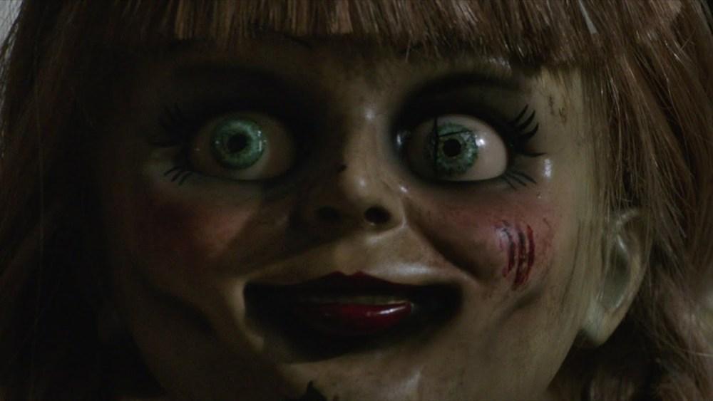 Annabelle bambola primo piano