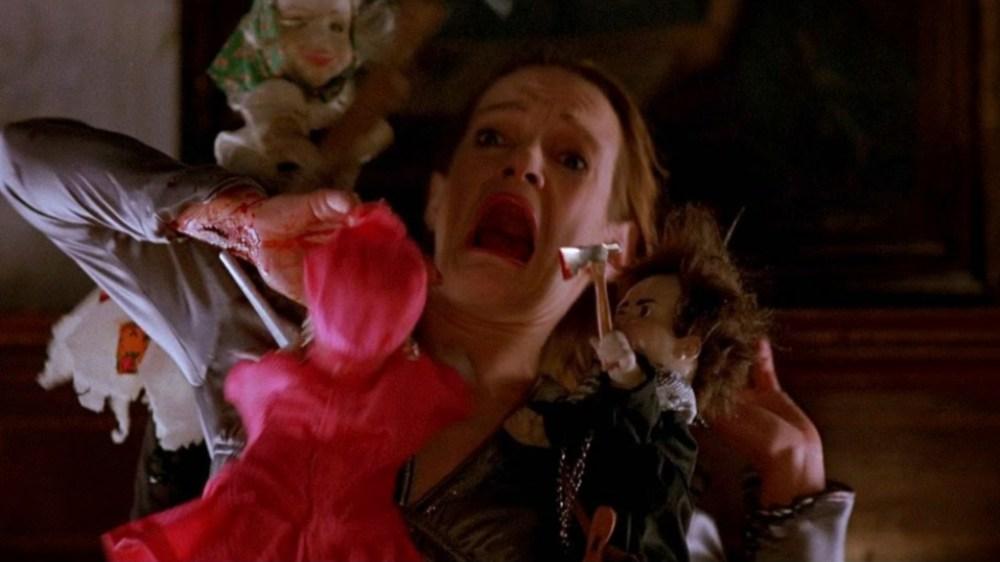 Dolls scena aggressione bambole