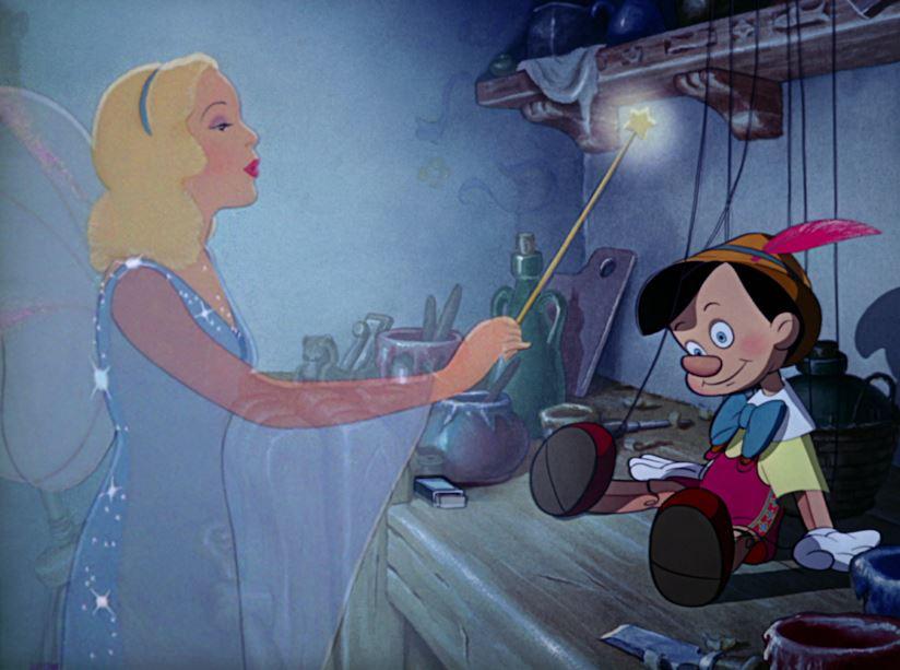 Pinocchio Disney Fata Turchina