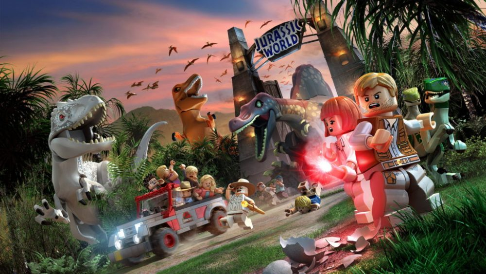 Lego Jurassic World scena